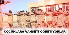 IŞİD VAHŞETİ ÖĞRETİYOR !