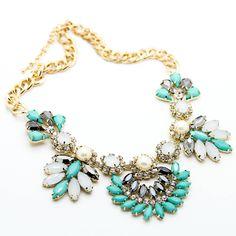 Glam statement necklace – Imsmistyle.