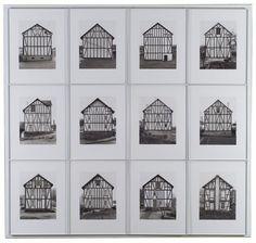 Bernd & Hilla Becher - FRAMEWORK HOUSES: WIESENSTRASSE 35 SIEGEN by BERND AND HILLA BECHER, 1993.
