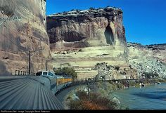 RailPictures.Net Photo: Denver & Rio Grande Western Railroad EMD F7(A) at Ruby Canyon, Colorado by Steve Patterson