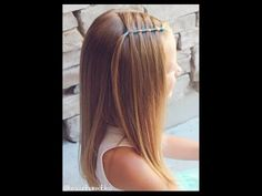 How to: Elastic Waterfall Tutorial - Brown Haired Bliss - YouTube