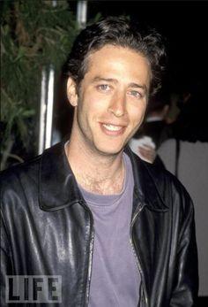 Jon Stewart - so cute when he was young! ;)