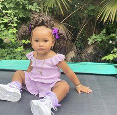 Cute Mixed Babies, Adorable Babies, Cute Kids, Black Baby Girls, Black Kids, Baby Girl Hair, Cute Baby Girl, Future Daughter, Future Baby
