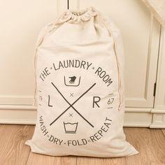 Large Fabric Laundry Bag