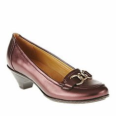 Cute for work; love the pearl finish. Softspots Women's Shay Pumps (FootSmart.com)