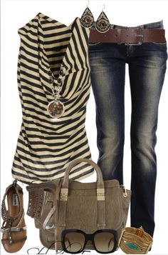 Lolo Moda. love the dark jeans!
