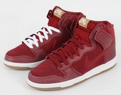"""Team Red"" Nike SB Dunk High"