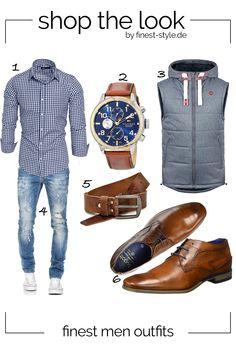 Modernes Outfit für Herren mit Klammotten von Tommy Hilfiger, Fa.Volmer, Bugatti, !Solid und Amaci&Sons #mode #ootd #outfit #männermode #outfits #Bekleidung #mensfashion #menstyle #herrenmode Dressy Casual Outfits, Stylish Mens Outfits, Big Men Fashion, Mens Boots Fashion, Business Casual Men, Men Casual, Moderne Outfits, Mode Man, Herren Outfit