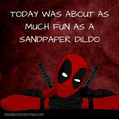 Deadpool an American superhero film based on Marvel comics. Deadpool has been a memb… Deadpool Art, Deadpool Funny, Deadpool And Spiderman, Marvel Funny, Marvel Memes, Funny Comics, Deadpool Stuff, Funny Deadpool Quotes, Funny Quotes