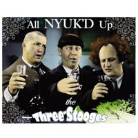3 Stooges All NYUK/'D Up  Metal Sign