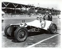 Ted Horn Ford #43, 1935 Indianapolis 500 (IMS Archives)