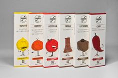 italian chocolate with flavour characters