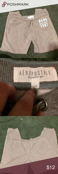 Aeropostale sweatpants Aeropostale sweatpants worn a little show no signs of wear Aeropostale Intimates & Sleepwear Pajamas