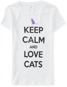 #Aeropostale              #love                     #Keep #Calm #Love #Cats #Graphic #Aeropostale       Keep Calm And Love Cats Graphic T - Aeropostale                               http://www.seapai.com/product.aspx?PID=381331