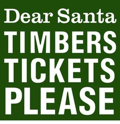Portland Timbers fans know what they want. #RCTID