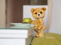 Made to order  Ted the Bear  artist teddy 9 inches bear