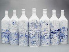 Johnnie Walker ganha garrafas que imitam porcelana chinesa