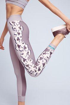 Slide View: 3: Adidas by Stella McCartney Flower Yoga Leggings