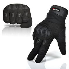 TPRANCE® Mens Tactical Gloves Full Finger Winter Adjustable Outdoor Sport/Fitness/Bike/Driving Black L - http://ridingjerseys.com/tprance-mens-tactical-gloves-full-finger-winter-adjustable-outdoor-sportfitnessbikedriving-black-l/