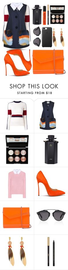 """Untitled #173"" by ivanov1234491 ❤ liked on Polyvore featuring Rossignol, Fendi, Witchery, Gucci, Altuzarra, Casadei, Jimmy Choo, Christian Dior, Gas Bijoux and Yves Saint Laurent"