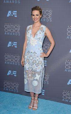 In Altuzarra dress and Bionda Castana shoes.   - HarpersBAZAAR.com