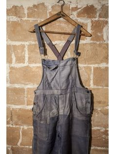 - 1930 moleskin hand repaired overall Just ordered it.