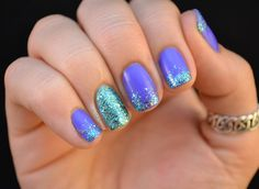 Nail art #love #mermaid