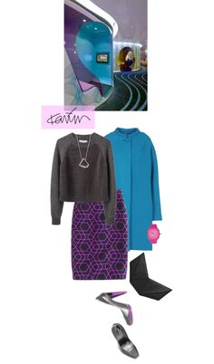 """""""Inspired by Karim Rashid"""" by babyou ❤ liked on Polyvore"""