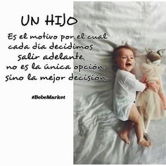 Cuanto amor!! Somos Mamas #bebe mama  #kids Son Quotes, Live Your Life, Spanish Quotes, Announcement, Sons, Baby Boy, Baby Shower, Thoughts, Motivation