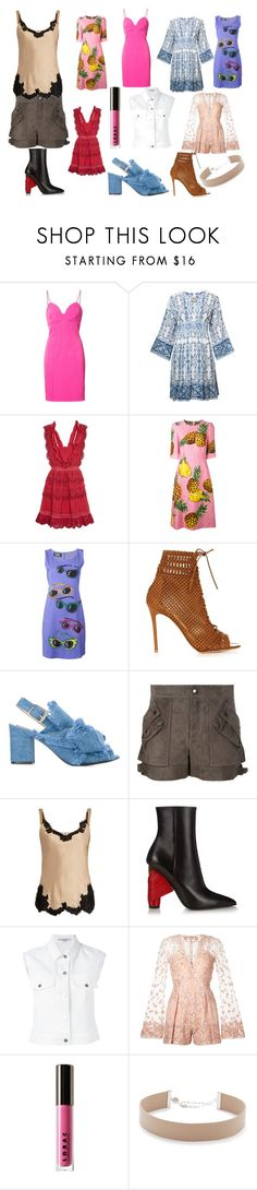 """Best fashion"" by racheal-taylor ❤ liked on Polyvore featuring ZAC Zac Posen, Sea, New York, self-portrait, Dolce&Gabbana, Jeremy Scott, Gianvito Rossi, N°21, Helmut Lang, Balenciaga and STELLA McCARTNEY"