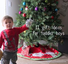 11 gift ideas for toddler boys, no batteries required!
