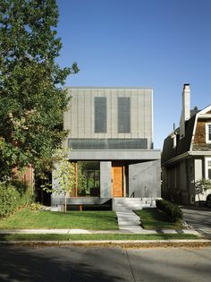 Image 22 of 22 from gallery of Counterpoint House / Paul Raff Studio Architects. Environmental Building Section Casa Top, Toronto Neighbourhoods, Building Section, Alvar Aalto, Random House, Interior And Exterior, Architecture Design, House Design, Mansions