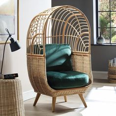 Desser - Rattan Furniture (@desserandco) • Instagram photos and videos Natural Furniture, Rattan Furniture, Boho Chic Interior, Interior Design, Hanging Chair, Design Trends, Wicker, Videos, Photos
