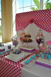 Candy table for Mia's 2nd Birthday!