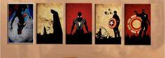 NOT-FRAMED-Oil-Painting-onj-Canvas-Superhero-Wall-Art-Hnadcraft-Superman-Modern