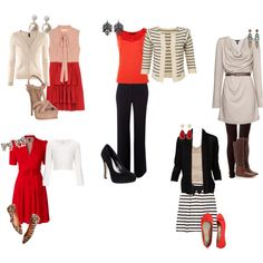 """teacher's wardrobe"" by sfhinchey on Polyvore"