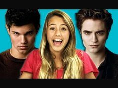 Teens React to (Twilight).  This and the Kids React series: so cute, well done, and amusing.
