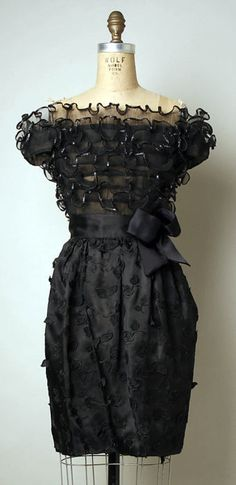 Dress  Arnold Scaasi, 1980s  The Metropolitan Museum of Art