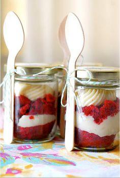 Cupcakes como lembrancinhas | mason jar | flavor wedding