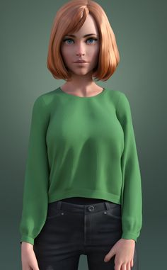 ArtStation - That look, John Moonan Zbrush Character, 3d Model Character, Female Character Design, Character Modeling, Cartoon Styles, Cartoon Art, Drawing Poses Male, Anatomy Models, 3d Girl