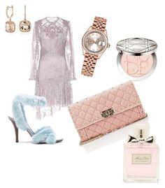 """Pastel"" by paulina-dubnicka on Polyvore featuring Zimmermann, Rolex, Valentino, Blue Nile and Christian Dior"