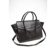 Forever 21 Structured Faux Leather Satchel 20 Liked On Polyvore Featuring Bags