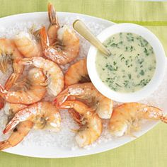 roasted shrimp with scampi-pizza and prosecco party