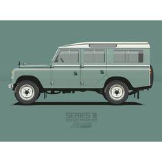 Land Rover 109 Serie III Sw advertisement