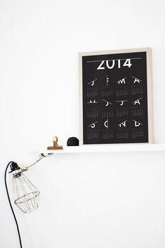 Coco Lapine Design Calendar