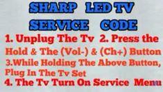 Sony Lcd, Sharp Tv, Tv Services, Secret Menu, Access Control, Data Sheets, Coding, Led, Symbols