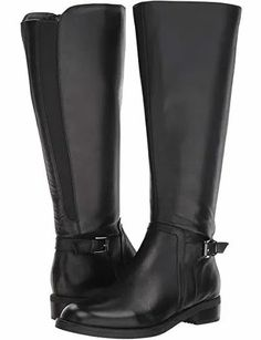 Women Black Leather Wide Shaft Riding Boots Waterproof. Black Leather Wide Shaft Women's Waterproof Riding Boots. Wide Shaft Boot black leather Waterproof boots are sure to get your season's style running Trendy Plus Size Fashion, Community Boards, Wide Calf Boots, Perfect Woman, Waterproof Boots, Black Leather Boots, Riding Boots, Curvy, Running