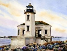 Bandon lighthouse | Mary Gibbs Art