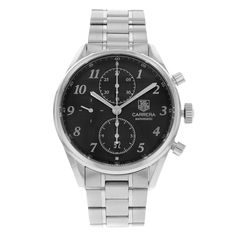 TAG Heuer Carrera Heritage CAS2110.BA0730 Stainless Steel Automatic Men's Watch