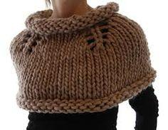 cuellos tejidos -